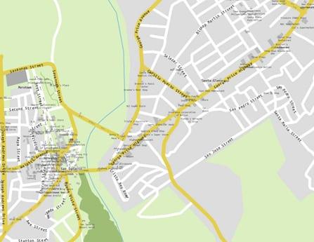 San Ignacio Map