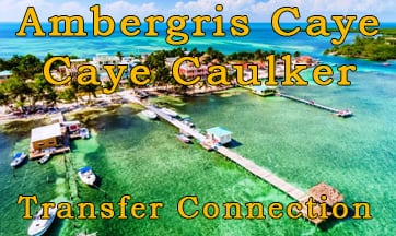 ambergris caye caye caulker water taxi terminal transfer