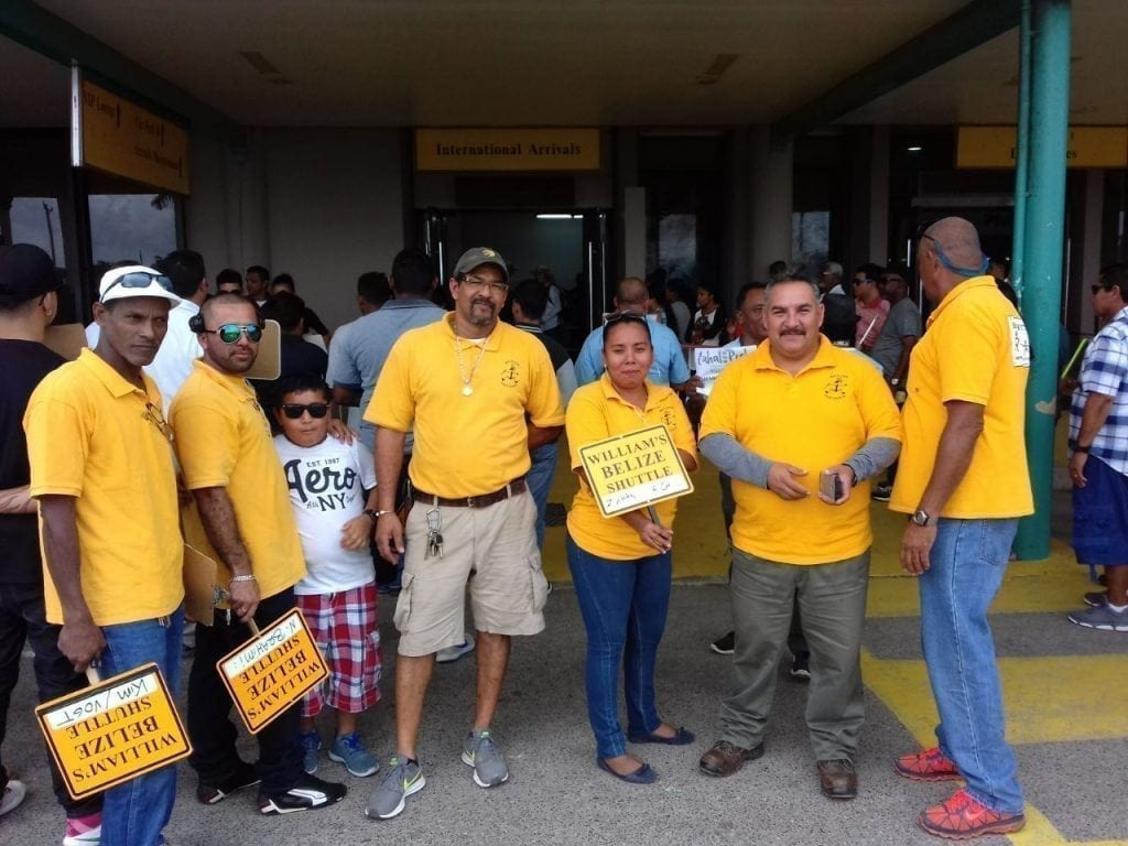Belize Shuttle Drivers at BZE Airport
