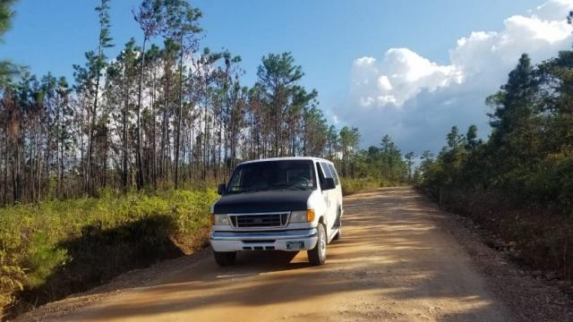 Belize Shuttle Service Van