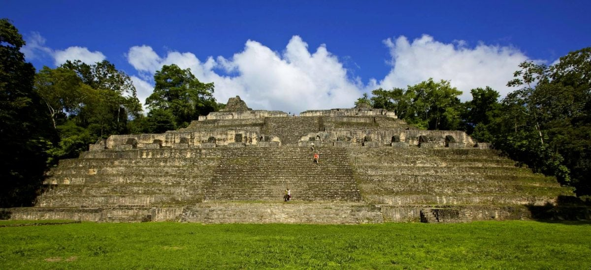 Caracol Maya Ruin