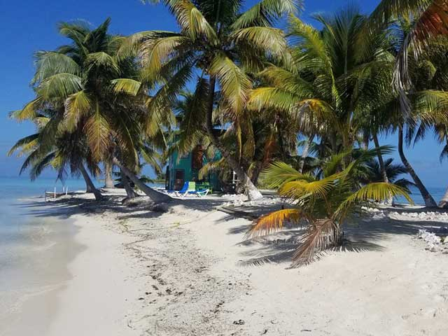 Belize island vacation
